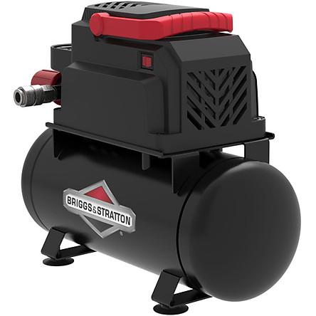 Máy nén khí không dầu hiệu B/S – BRIGGS & STRATTON USA  bình chứa 6L công suất 0.75HP  MODEL 0200681-Hàng chính hãng