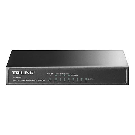 Switch TP-Link TL- SF1008P - Hàng Chính Hãng