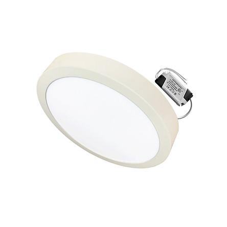 Đèn Led ốp trần 12w tròn nổi sáng trắng-vàng nắng Posson LP-Ro12-12G
