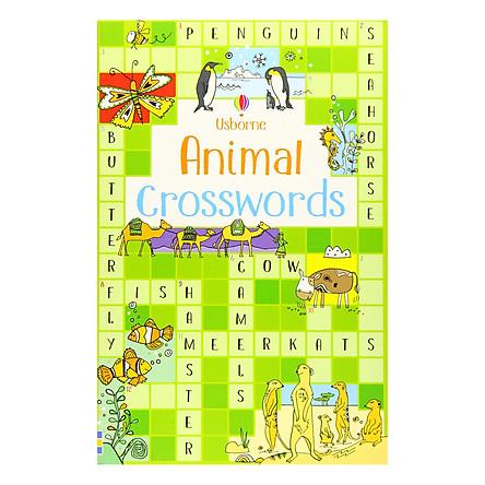 Usborne Animal Crosswords