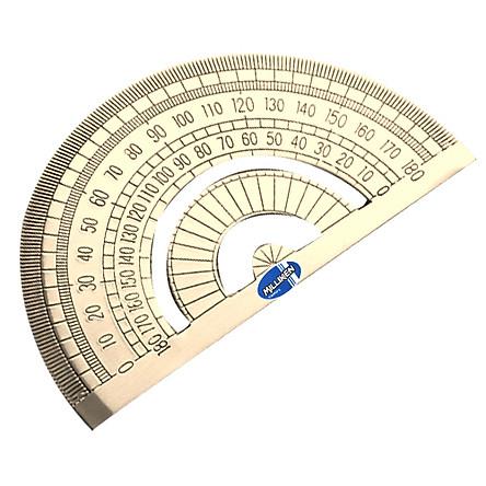 Thước đo độ 180 độ bằng đồng Milliken