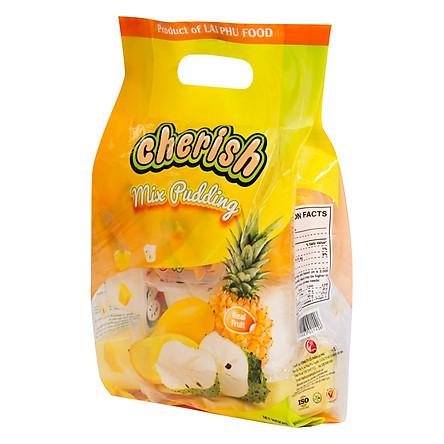Thạch pudding Cherish vị Tổng Hợp 850g