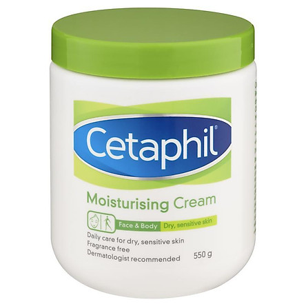 Kem dưỡng ẩm da Cetaphil 550g Nhập Khẩu Mỹ
