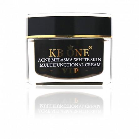 Kem Ngừa mụn trắng da, mờ thâm và se khít lỗ chân lông cao cấp Kbone (VIP đen 15g)