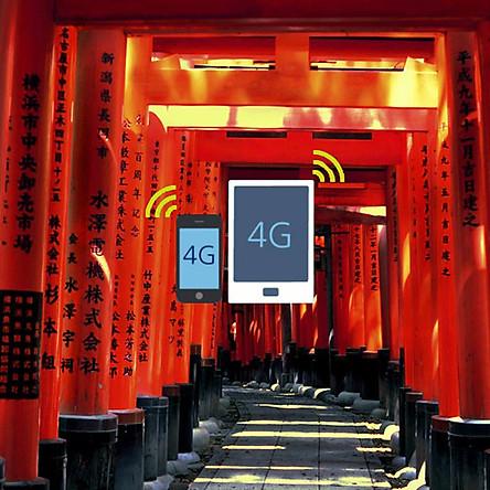 Sim 4G Nhật Bản - Gói 1GB Dữ Liệu Trong 6 Ngày (Nhận Tại Sân Bay Ở Nhật Bản)