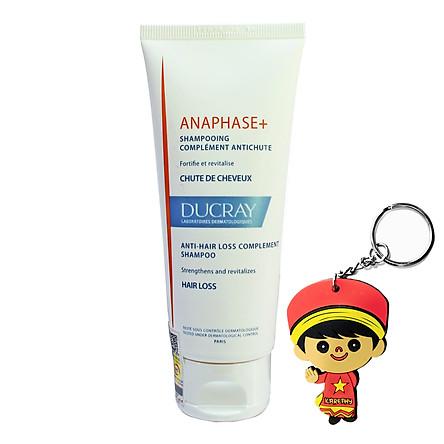 Dầu gội giảm rụng tóc Ducray Anaphase+ Anti-Hair Loss Complement Shampoo 100ml (tặng móc khoá)