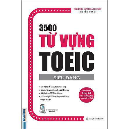 3500 Từ Vựng Toeic (Tái Bản 2020)