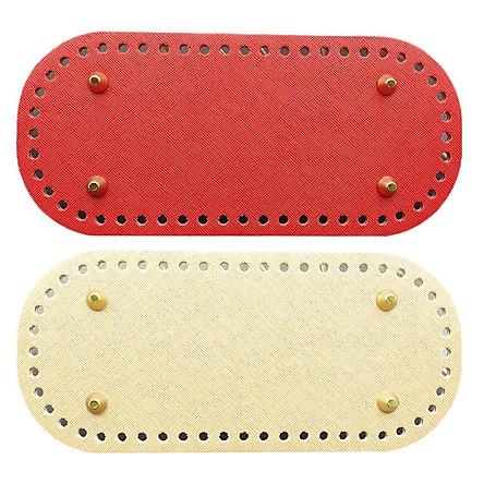 2Pcs DIY Shoulder Bags Bottom Mat Pad Weaving Bags Insert Cushion Bag Making