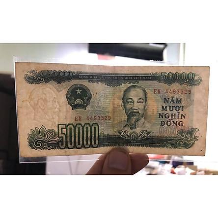 Tờ 50 ngàn đồng Việt Nam 1994, tiền xưa bao cấp sưu tầm