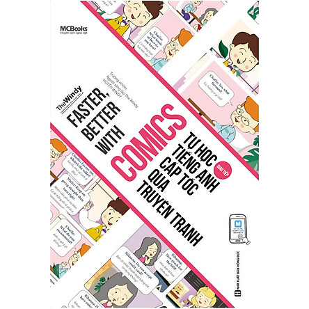 Faster, Better with Comics – Tự học tiếng Anh cấp tốc qua truyện tranh