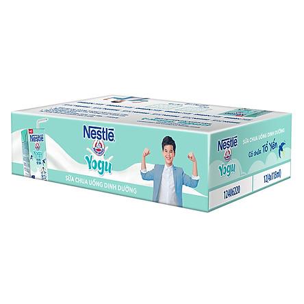 Thùng 48 Hộp Sữa Chua Uống Dinh Dưỡng Nestlé Yogu (115 ml/Hộp)