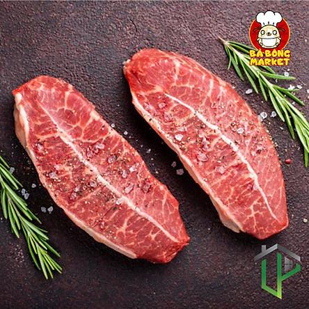 [Chỉ Giao HCM] - Thịt Lõi Vai Bò Mỹ miếng beefsteak (Top Blade USA) - 500gr