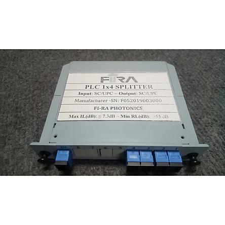 Bộ chia quang PLC 1x4 Box SC/UPC- Hàng chính hãng