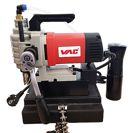 Máy khoan từ VAC nằm ngang mini 25mm - 1380W - KGF-25BH