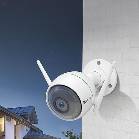 Camera IP wifi Ezviz ngoài trời CS-Cv310 (C3WN) Kèm thẻ nhớ Sandisk 32GB - Hàng chính hãng