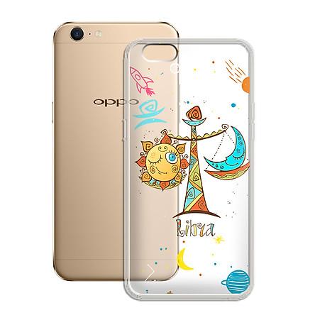 Ốp lưng Dẻo cho điện thoại Oppo Neo 9s (A39) - F3 Lite A57 - 01100 8049 LIBRA 01 - In Nổi Họa Tiết - Cung Thiên Bình - Hàng Chính Hãng