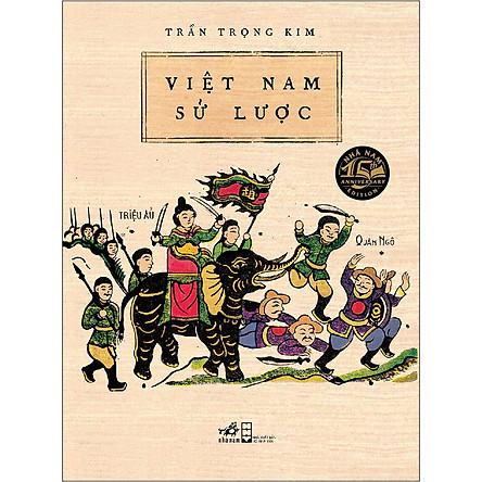 Việt Nam Sử Lược (Bìa Cứng) - Tái bản 2020