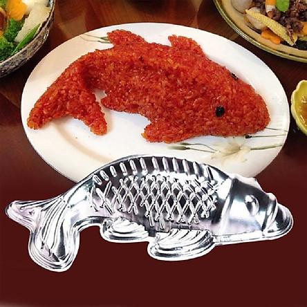 Bộ 02 Khuôn làm xôi, thạch rau câu, bánh hình cá chép