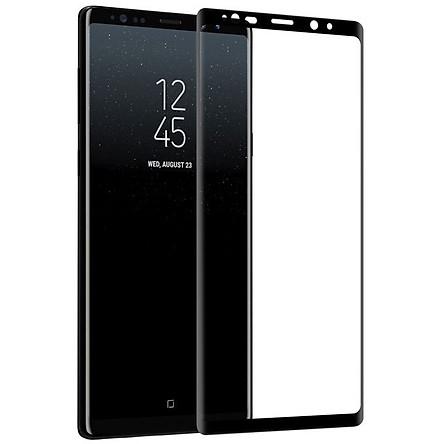 Miếng dán kinh cường lực Nillkin CP MAX cho Samsung Galaxy Note 9 (Chất liệu kính ACC nhật bản, Full 3D, độ nét HD, vát mỏng 0.2mm) - Hàng chính hãng