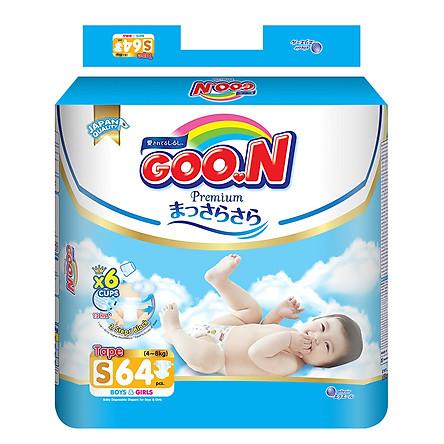 Tã Dán Goo.n Premium Gói Cực Đại S64 (64 Miếng)