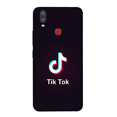 Ốp lưng dành cho điện thoại Vivo Y11 in họa tiết Logo Tik ..Tok 01