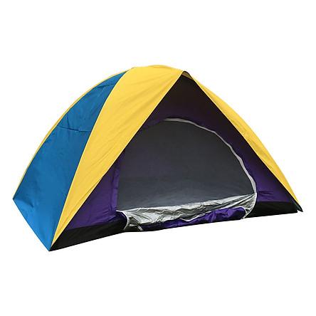 Lều Cắm Trại Cho 4 Người 2 Lớp Chống Mưa Halu M04022