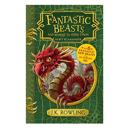 Harry Potter: Fantastic Beasts And Where To Find Them (Paperback) (English Book)