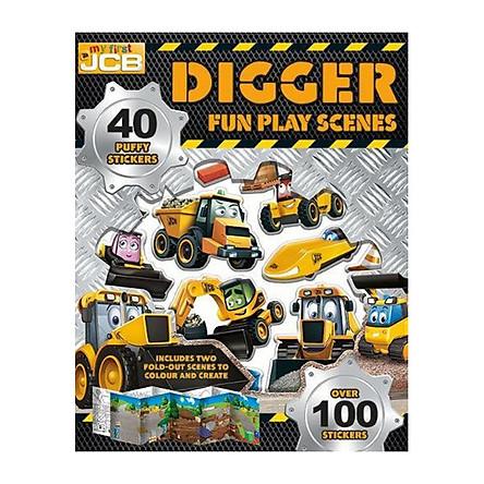 My First JCB: Digger Fun Play Scenes