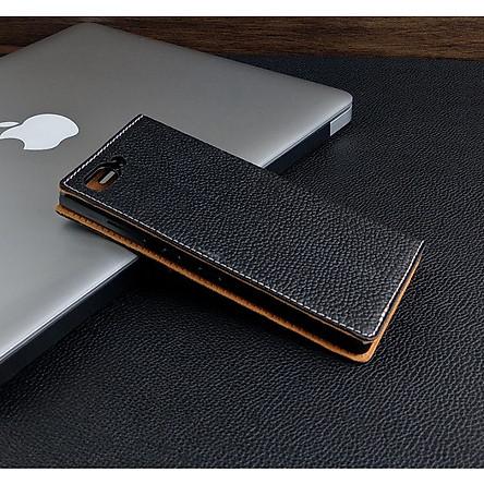 Bao Da dành cho Blackberry Key2 Da Bò mẫu onecase