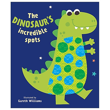 Sequins Books - The Dinosaur's Incredible Spots