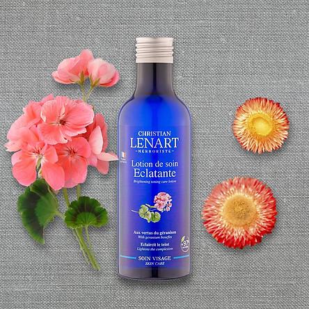 Toner thảo dược chiết xuất hoa phong lữ Christian Lenart Brightening Toning Care Lotion 200ml (Dưỡng sáng da, ngăn ngừa mụn)