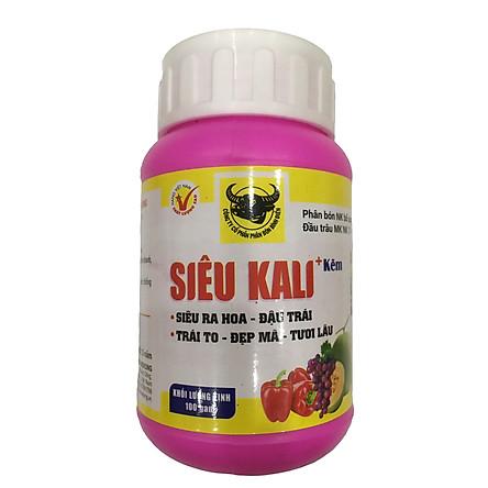 Phân đầu trâu SIÊU KALI + KẼM bổ sung vi lượng cho hoa và cây ăn trái giúp Nhiều hoa - Đậu trái - Quả to - Tươi lâu