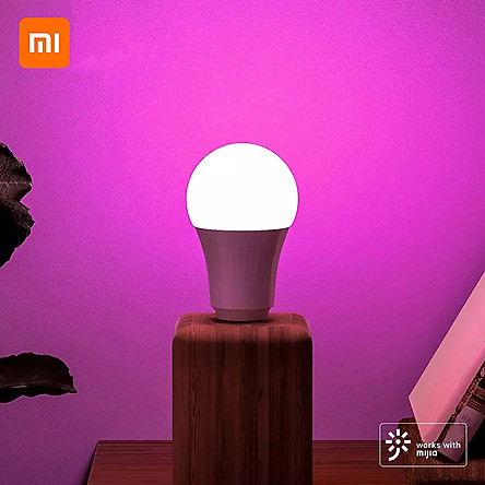 Xiaomi Youpin Inncap Smart LED Light Bulb Colorful E27 Bulb Base Dimmable Lamp 800 Lumens Timer Night Light Intelligent