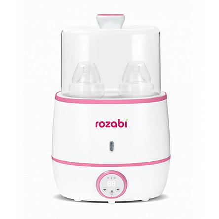 Máy hâm sữa tiệt trùng siêu tốc cao cấp Rozabi Flash 500W HB-055E