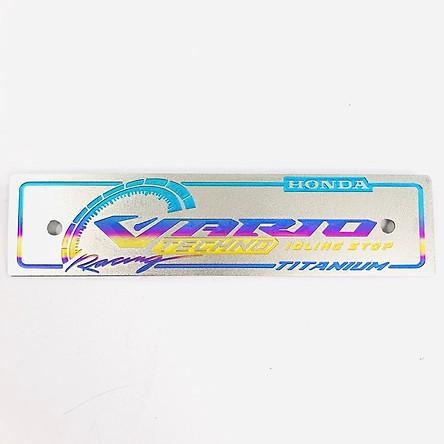 Bảng tên xe Vario  (Màu chữ Ngẫu Nhiên)