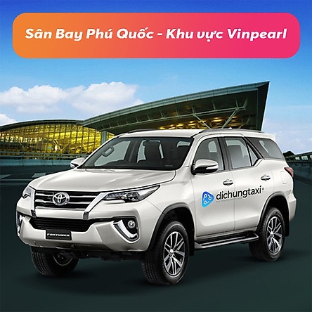 Voucher Xe 7 Chỗ Đưa / Đón Sân Bay Phú Quốc - Khu vực Vinpearl