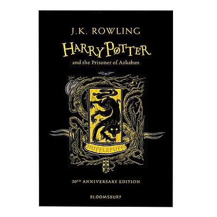 Harry Potter And The Prisoner Of Azkaban (Hufflepuff Edition Hardback) (English Book)