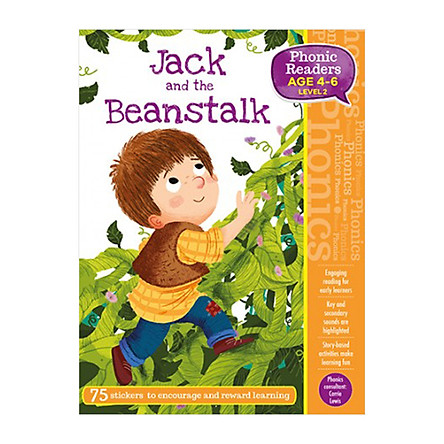 Phonic Readers Age 4-6 Level 2: Jack and the Beanstalk