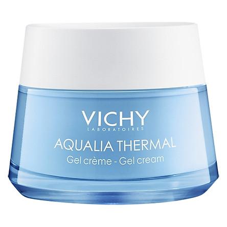 Gel Dưỡng Ẩm Giúp Da Dịu Mát Cho Da Thường, Da Hỗn Hợp & Da Nhạy Cảm Vichy Aqualia Thermal Rehydrating Gel Cream (50ml) - MB066000
