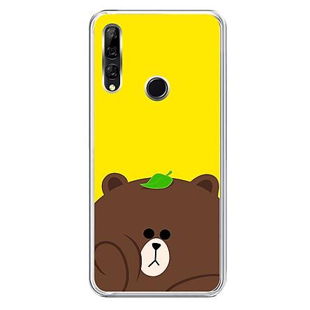 Ốp lưng dẻo cho điện thoại Huawei Y9 Prime 2019 - 0182 GAUBROWN - Hàng Chính Hãng
