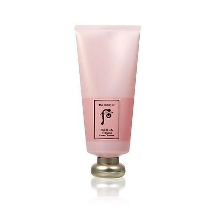 Sữa rửa mặt dưỡng ẩm chống lão hóa WHOO GJH Soo Hydra. Foam Cleanser 180ml