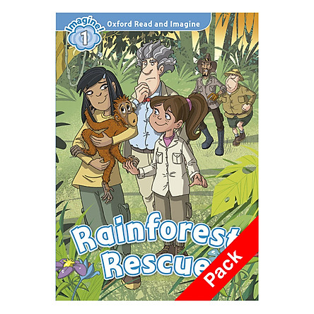 Oxford Read And Imagine Level 1: Rainforest Rescue Audio CD Pack