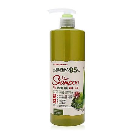 Dầu Gội White Good Nature Aloe Vera Hair Shampoo Organia (1.5L)