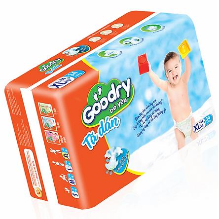 Tã Dán Goodry Bé Yêu XL34