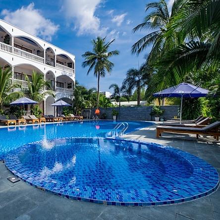 Brenta Hotel 4* Phú Quốc - Hồ Bơi, Buffet Sáng, Bãi Biển Riêng, Trung Tâm Dương Đông