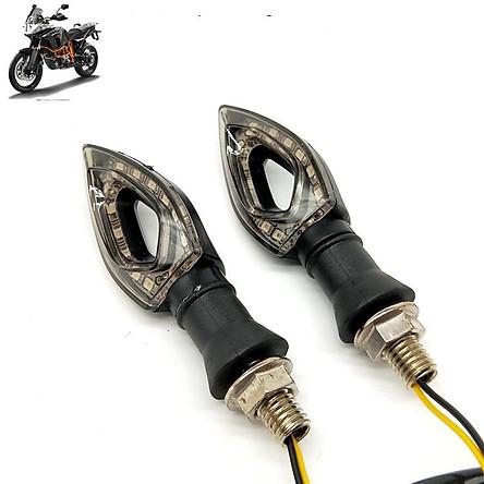Cặp đèn LED xi nhan Moto hình quả nhót