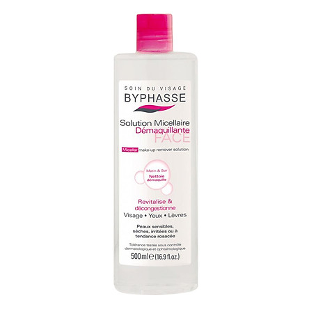 Nước Tẩy Trang Byphasse Micellar Make-Up Remover Solution (500ml)