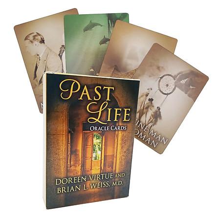 Bộ Bài Bói Tarot Past Life Oracle Cards New Chất Lượng Cao