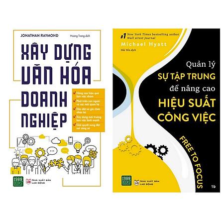 Combo 2 Cuốn: Phát Triển Kỹ Năng Lãnh Đạo + Quản Lý Sự Tập Trung Để Nâng Cao Hiệu Suất Công Việc