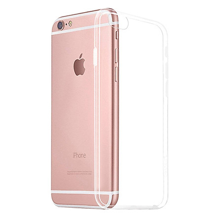 Ốp Silicon Dẻo Trong Suốt Cực Mỏng Dành Cho iPhone 6 Plus / 6S Plus